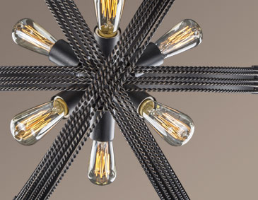 Carter Lighting Collection 7001 ABZ Series Aged Bronze Finish