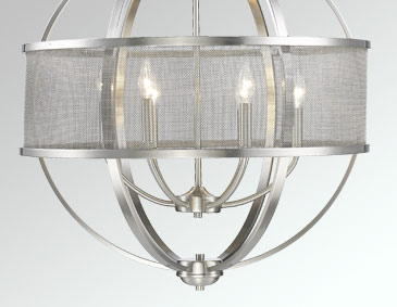 Colson Pw Lighting Collection Br 3167 Series Pewter